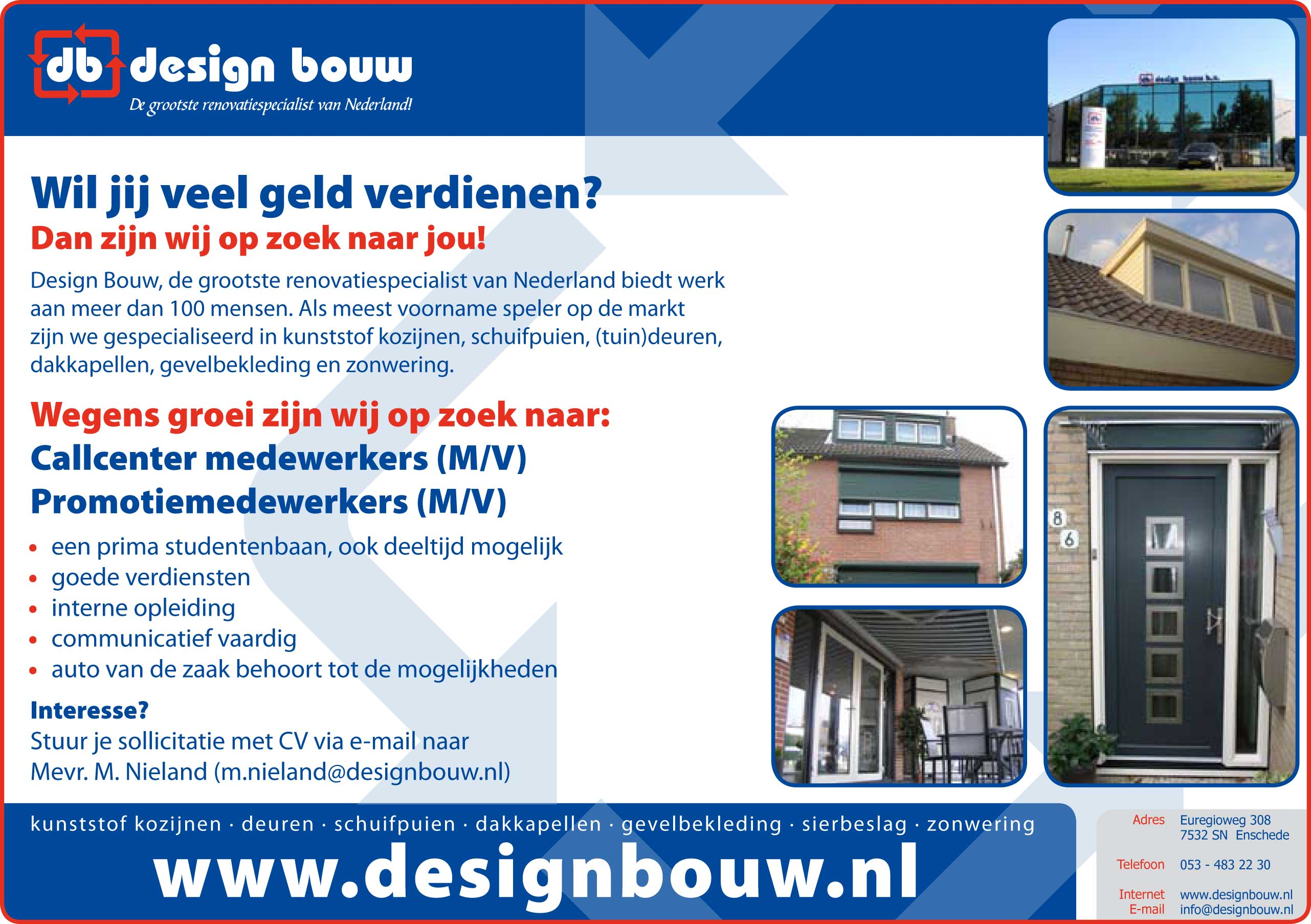 DB vacature 1Vacatures